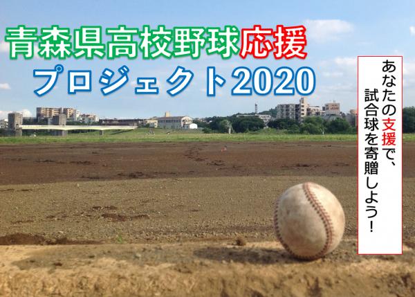 青森高校野球応援プロジェクト 試合球を球児に届けよう!