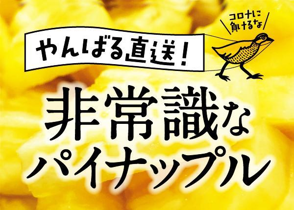 パイナップルの王様ゴールドバレルを味ってほしい