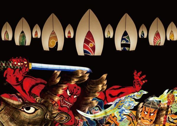 ねぶたのライトを国際見本市に出品し、ねぶたの美しさで世界を魅了したい!
