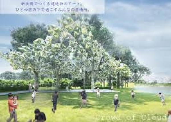 小さな風船が想いをつなぐ。〜「新技術×アート」が可能にする新しい建造物の未来〜